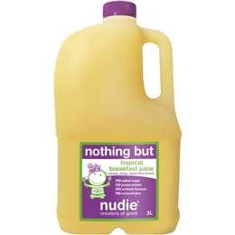 Nudie Nothing But Breakfast Juice  3l