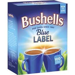 Bushells Blue Label Black Tea  100 pack