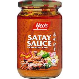 Yeo's Satay Sauce Satay Bbq 250ml