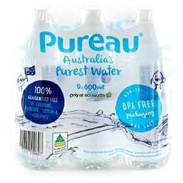 Pureau Pure Water  9x600ml