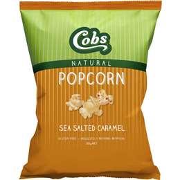 Cobs Popcorn Sea Salted Caramel Gluten Free 100g