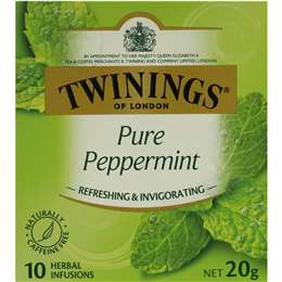 Twinings Pure Peppermint Tea Bags 10 pack
