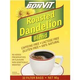 Bonvit Roasted Dandelion Tea Bags 32 pack