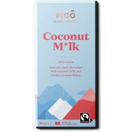 Pico Coconut Milk Vegan Chocolate 80g