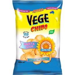 Vege Chips Sweet & Sour 100g