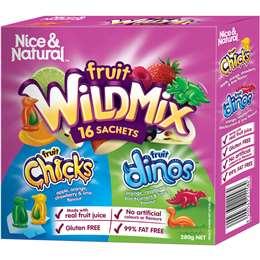 Nice & Natural Fruit Dino Snacks  16 pack