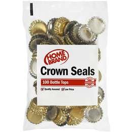 Homebrand Home Brew Crown Seals 100 pack