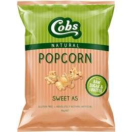 Cobs Popcorn Sweet As Gluten Free 110g
