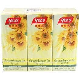 Yeo's Drink Chrysanthemum 6 pack
