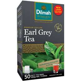 Dilmah Earl Grey Tea Bags 50pk