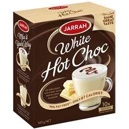 Jarrah Hot White Chocolate Sachets 10pk