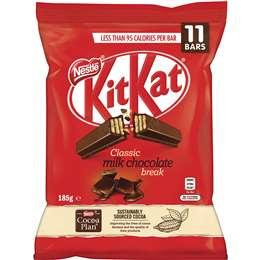 Nestle Kitkat Original Funpack 11 Piece 185g