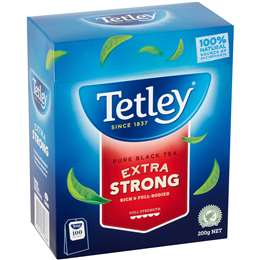 Tetley Extra Strong Tea Bags  100 pack