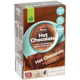 Woolworths Hot Chocolate  10 pack