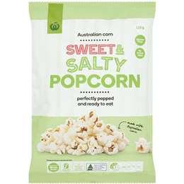 Woolworths Gluten Free Popcorn Sweet & Salty 120g