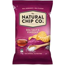 Natural Chip Company Sea Salt & Vinegar 175g