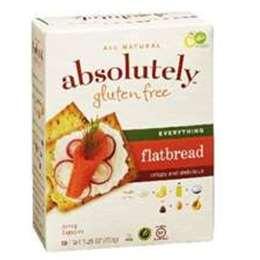 Absolutely Gluten Free Everything Flatbread Cracker 150g