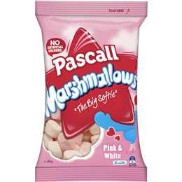Pascall Marshmallows Vanilla Raspberry 280g bag