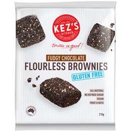 Kez's Chewy Flourless Brownies – Fudgy Chocolate 210g