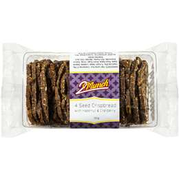 2 Munch 4 Seed Crispbread With Hazelnut & Cranberry 120g