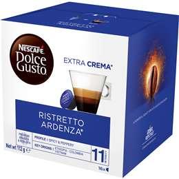 Nescafe Dolce Gusto Coffee Capsules Ristretto Ardenza 16 pack