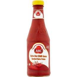 Abc Chilli Sauce Extra Hot 340ml