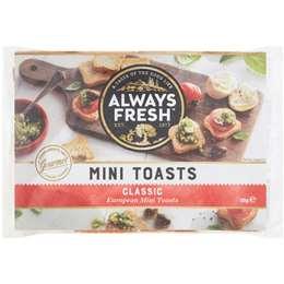 Always Fresh Mini Toasts  90g