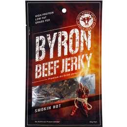 Byron Beef Jerky Smoking Hot  40g