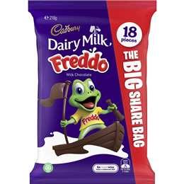 Cadbury Dairy Milk Freddo Sharepack  18 pack