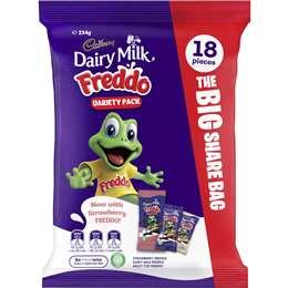 Cadbury Dairy Milk Freddo Variety Pack 18 pack