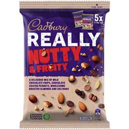 Cadbury Really Nutty And Fruity  150g