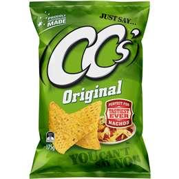 Cc's Corn Chips Original 175g