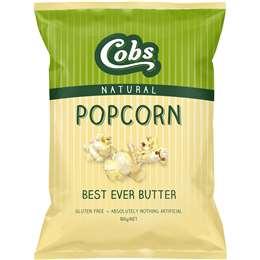 Cobs Popcorn Best Ever Butter Gluten Free 100g