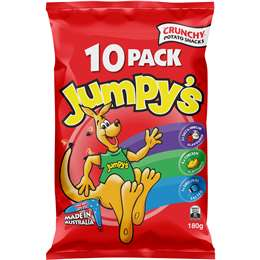 Jumpy's Variety Multi Pack Chips  10 pack