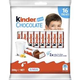 Kinder Chocolate Sharepack 16 pack