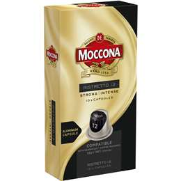 Moccona Ristretto 12 Coffee Capsules  10 pack
