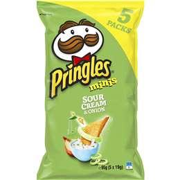 Pringles Minis Sour Cream & Onion Chips Multi 134g