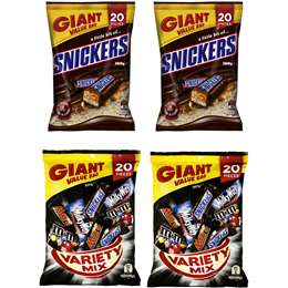 Snickers & Mixed Variety Party Pack Bundle