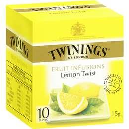 Twinings Lemon Twist Tea Bags 10pk 20g