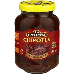 La Costena Mexican Style Chipotle In Adobo Sauce 230g