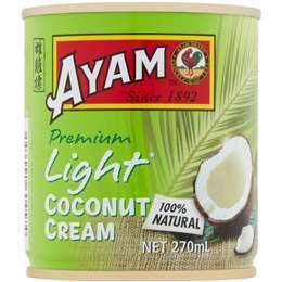 Ayam Coconut Cream Light 270ml