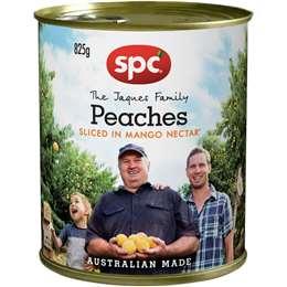 Spc Peaches Sliced In Mango Nectar 825g