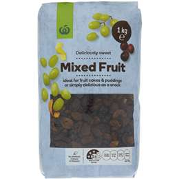 Woolworths Mixed Fruit 1kg
