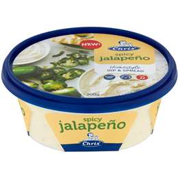 Chris' Spicy Jalapeno Dip & Spread 200g