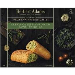 Herbert Adams Rolls Flaky Cheese & Spinach 440g
