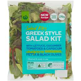 Woolworths Greek Salad 270g pack