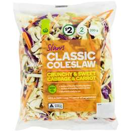 Woolworths Classic Coleslaw 200g