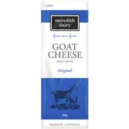 Meredith Dairy Goat's Cheese Chevre Plain 80g