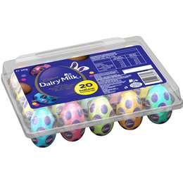 Cadbury Dairy Milk Easter Egg Crate 340g