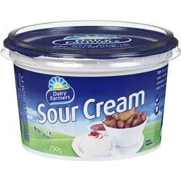 Dairy Farmers Sour Cream 250g